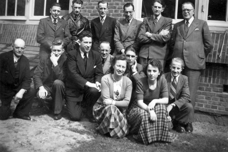 Hmeer Gemeentepersoneel 1950 met Jacobus den Boef