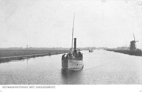 Hmeer Stoomboot Carsjens op Heymanswetering