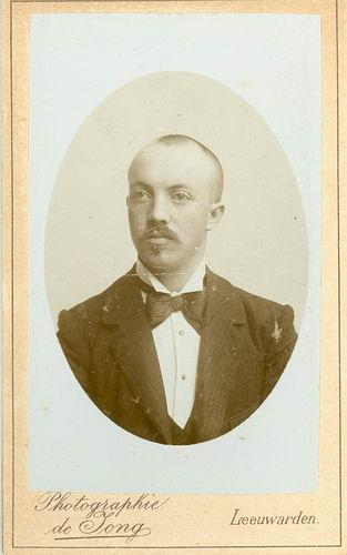 Veen Johannes K van der 1875 19__ Portret
