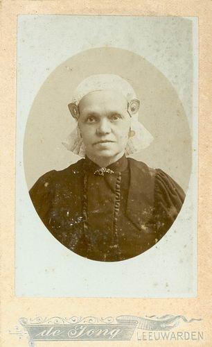 Veen Kornelis Ybeles van der 1845 19__ Portret met vrouw Tietje vd Schans 02