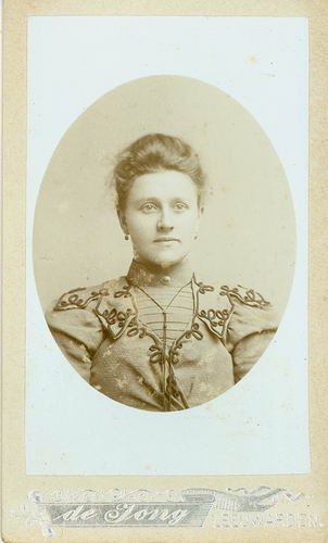 <b>ZOEKPLAATJE:</b>Veen Johannes K van der 1875 19__ Portret Onbekend 01
