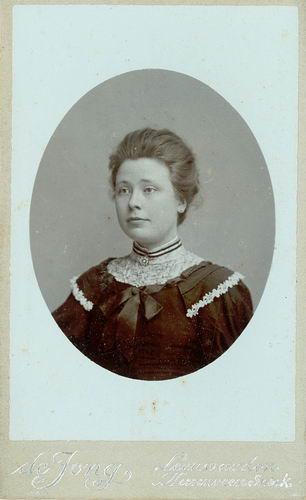 <b>ZOEKPLAATJE:</b>Veen Johannes K van der 1875 19__ Portret Onbekend 06