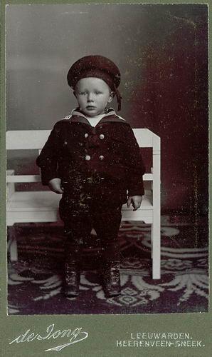 <b>ZOEKPLAATJE:</b>Veen Johannes K van der 1875 19__ Portret Onbekend 08