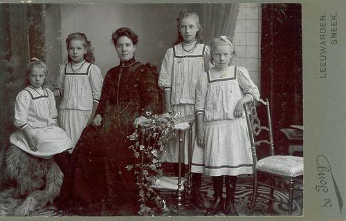 <b>ZOEKPLAATJE:</b>&nbsp;Veen Johannes K van der 1875 19__ Portret Onbekend 10