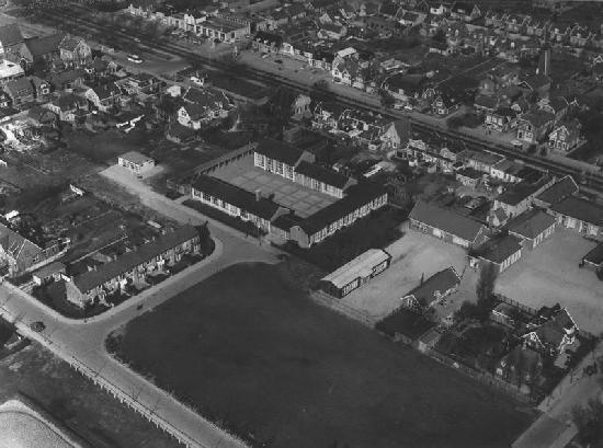 Hoofddorp 1960 Luchtfoto Centrum