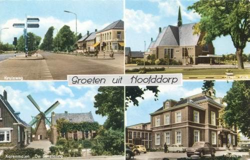 Hoofddorp 4 luik 1967 kleur