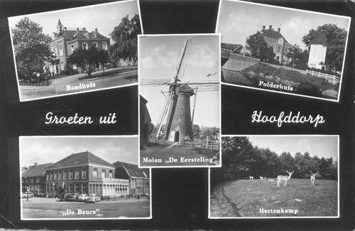Hoofddorp 5 luik 1955