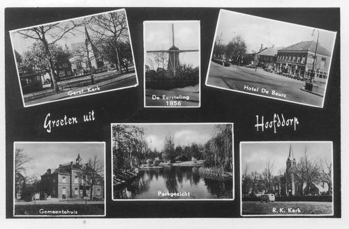 Hoofddorp 6 luik 1955