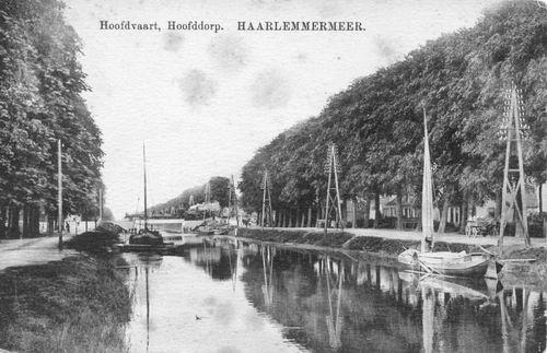 Hoofdweg O 066_ 1912 Spoorbrug met trein 01