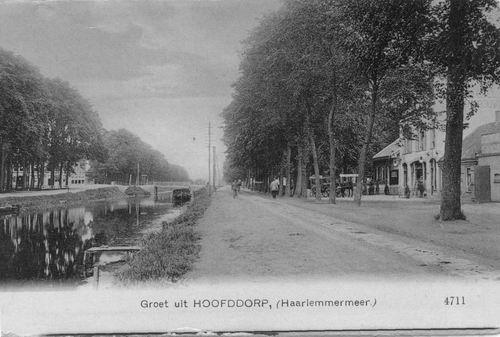 Hoofdweg O 0706 1908 Landbouw en kruiswegbrug
