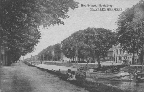 Hoofdweg O 0706 1910 Landbouw en Polderboom