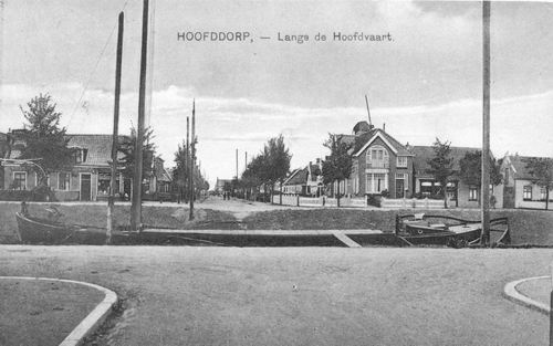 Hoofdweg O 0718 1923 Hoofdweg vanaf Kruislaan