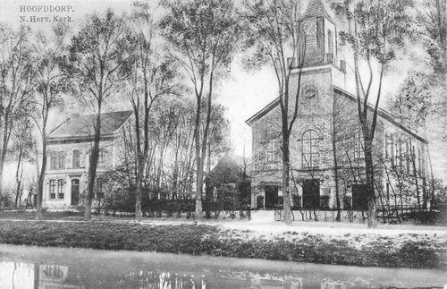 Hoofdweg O 0772-774 1915 NH Kerk