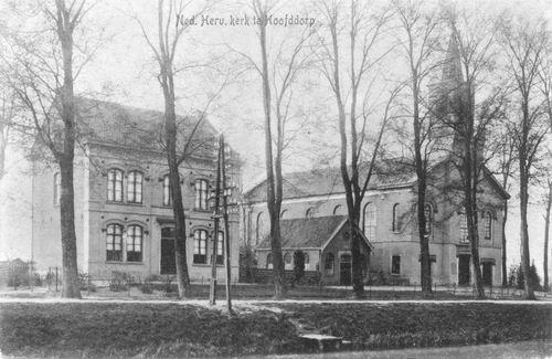 Hoofdweg O 0772-774 1917 NH Kerk