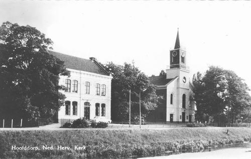 Hoofdweg O 0772-774 1970 NH Kerk