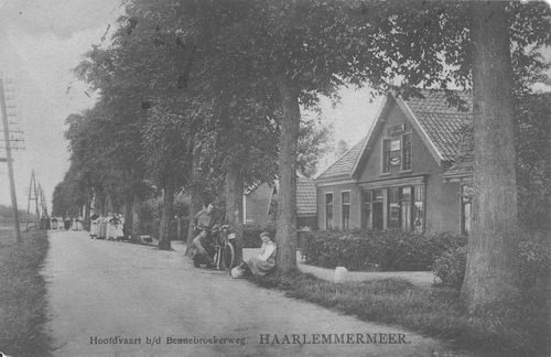 Hoofdweg O 1022 1915 Kruidenier A Schreurs
