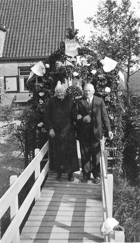 Hoofdweg O 1248 1937 Arie Stout 50jr getrouwd 01