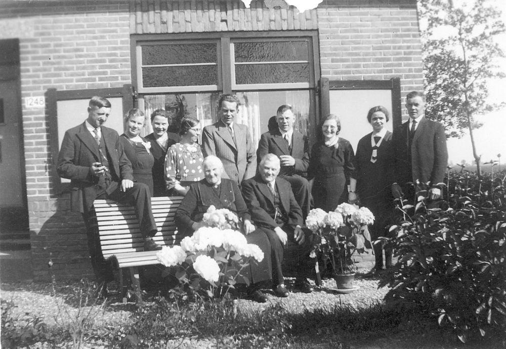 Hoofdweg O 1248 1937 Arie Stout 50jr getrouwd 02