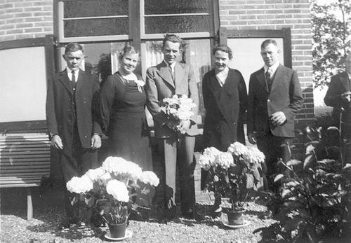 Hoofdweg O 1248 1937 Arie Stout 50jr getrouwd 03