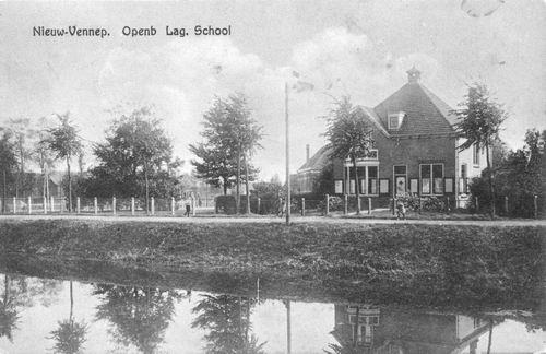 Hoofdweg O 1324 1934 School 5 Onderwijzerswoning