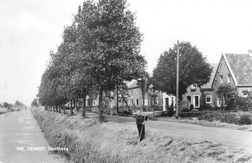 Hoofdweg O 1378- 1964 met oa Huize Cor Cuvelier