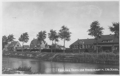 Hoofdweg O 1730 Chr School 1939