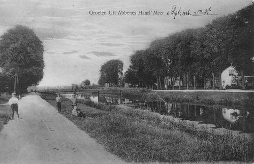 Hoofdweg O 175_ 1914 Loopbrug