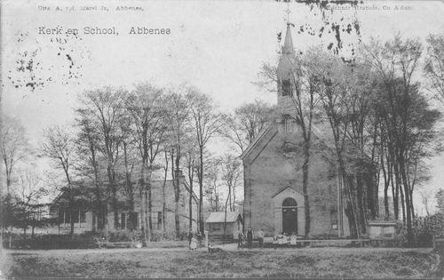 Hoofdweg O 1764 1911 NH Kerk en School