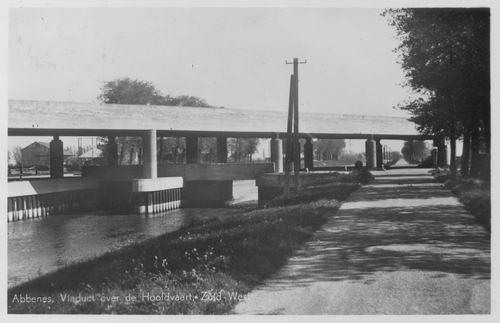 Hoofdweg O 19__ Rijkswegviaduct 1949 02
