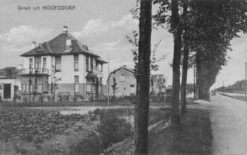 Hoofdweg W 0627 1921 Huize vd Weetering