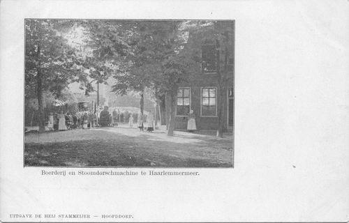 Hoofdweg W 0659 1905 of eerder Hoeve Buitenrust