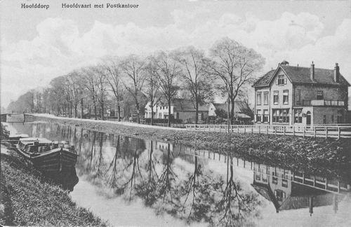 Hoofdweg W 0663a 1915 Postkantoor tot Kruisweg
