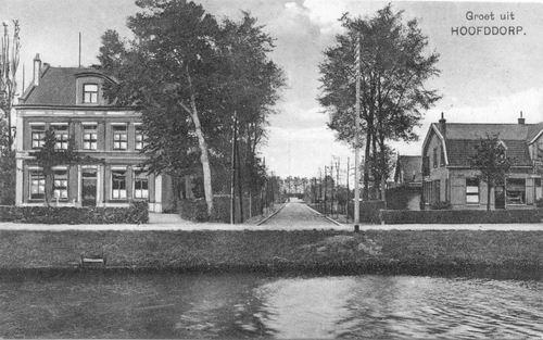 Hoofdweg W 0667b-669 1923 bij Manegelaan