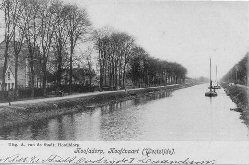 Hoofdweg W 0669 1908 bij Manegelaan