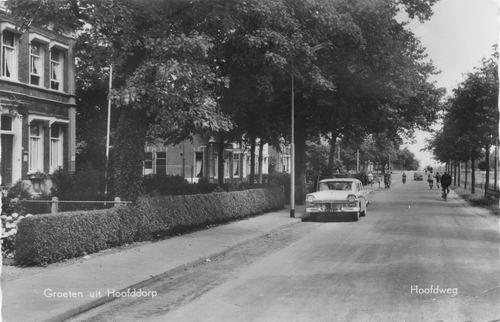 Hoofdweg W 0669 1962 bij Manegelaan
