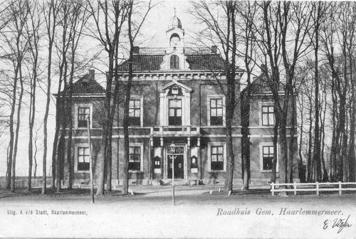 Hoofdweg W 0671 1903 Raadhuis 01