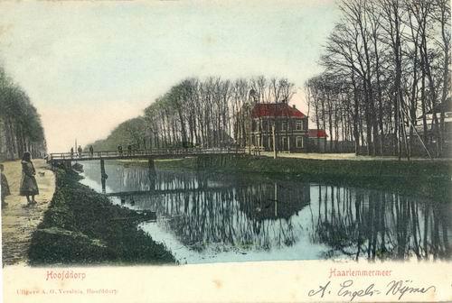 Hoofdweg W 0671 1903 Raadhuis 02 Ingekleurd
