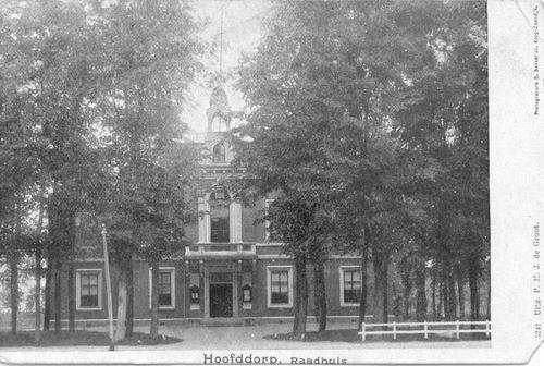 Hoofdweg W 0671 1905 of eerder Raadhuis 05