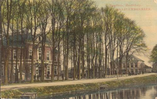 Hoofdweg W 0671 1909 Raadhuis 01