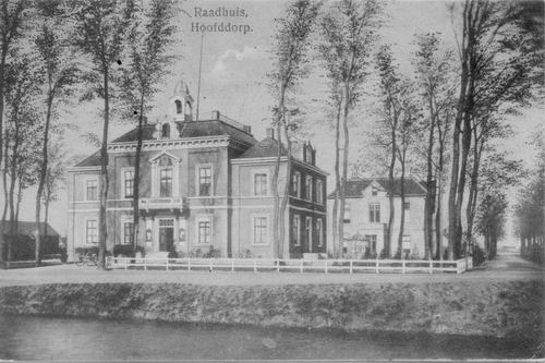 Hoofdweg W 0671 1914 Raadhuis 06