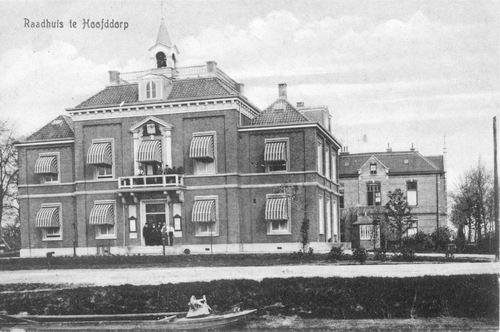 Hoofdweg W 0671 1917 Raadhuis 01