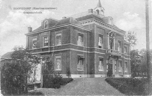 Hoofdweg W 0671 1917 Raadhuis 02
