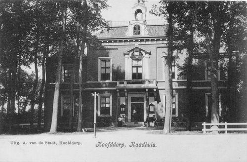 Hoofdweg W 0671 1907 Raadhuis 11
