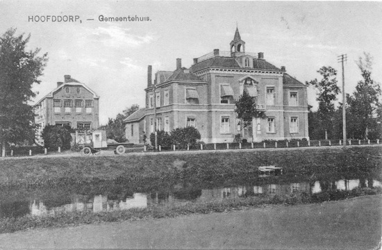 Hoofdweg W 0671 1925 Raadhuis