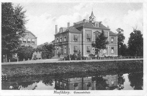 Hoofdweg W 0671 1931 Raadhuis