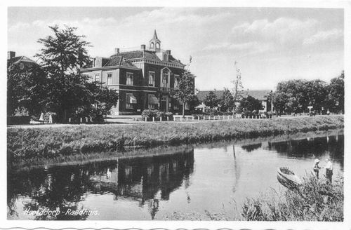 Hoofdweg W 0671 1936 Raadhuis