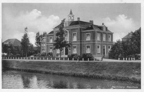 Hoofdweg W 0671 1939 Raadhuis