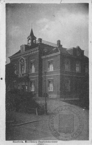 Hoofdweg W 0671 1943 Raadhuis 02