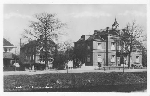 Hoofdweg W 0671 1954 Raadhuis 02