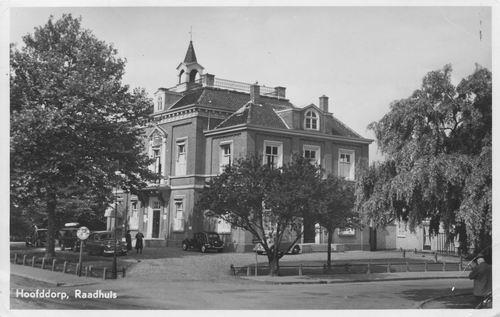 Hoofdweg W 0671 1955 Raadhuis